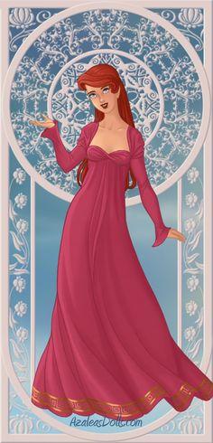 Azalea's Dolls ariel   Ariel - Goddess by MissIndianaGirl