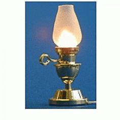 Lampe à poser - 786A352 1/12ème #maisondepoupées #dollhouse #lampe #lamp #light #meuble #furniture #miniature