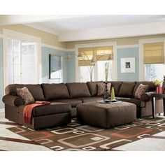Need This Wall Color To With Our Brown Couch