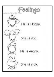 Image result for free emotion coloring pages