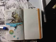 Number 79 of Kenneth Rocafort's 365 day sketch project (2014).