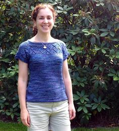Ravelry: Project Gallery for I love my Tee pattern by Ela Torrente