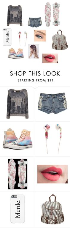 """""""Shane"""" by the-one-and-only-ellie ❤ liked on Polyvore featuring Juicy Couture, Converse and Pilot"""