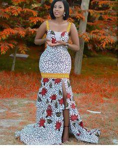 afrikanische frauen Buy White Mermaid African Dress, Cocktail Dress at ! 45 days money back guarantee. African Attire, African Wear, African Women, African Dress, African Prom Dresses, African Fashion Dresses, Fashion Outfits, African Outfits, Fashion Styles