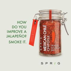 ‪#‎Chipotle‬ ‪#‎chiles‬ start life as ‪#‎jalapeños‬ before they are dried and smoked to perfection. https://goo.gl/owhQYc ‪#‎SprigGourmet‬ ‪#‎GorurmetIngredients‬ ‪#‎OnlineOrder‬