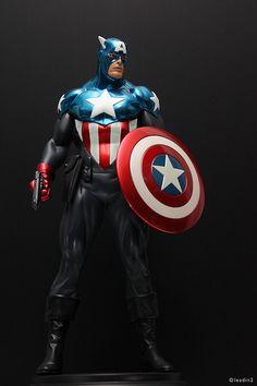 Bucky as Modern Captain America | Statue | Bowen Designs Marvel Comics