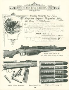 The .425 Westley Richards - Revivaler