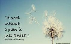 Image result for a goal without a plan is just a wish quote