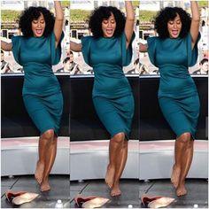 Tracee Ellis Ross @traceeellisross Dress by @AmberSa...Instagram photo | Websta (Webstagram)