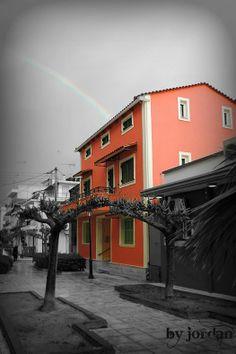 #rainbow #blackandwhite #color Timeline Photos, Landscapes, Rainbow, Photography, Color, Fotografie, Colour, Paisajes, Photograph
