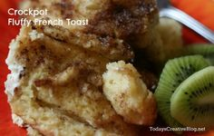 **Actual Link Included not just photo** Crockpot French Toast ~ SlowCooker Sunday - Todays Creative Blog