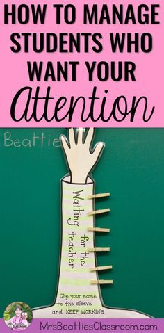 Are you a middle school or elementary teacher who is frustrated by lines of students wanting your attention? You are going to want to check out this post containing an easy strategy that both you AND your substitute teachers will love!