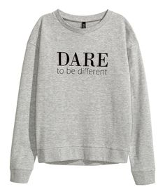 Sweatshirt with Printed Design| H&M Divided