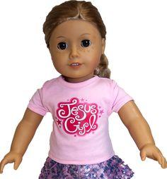 American Girl Doll sized Christian shirts on SonGear