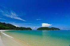 Nipah Beach | surrounded by a rich diversity of corals and marine life. *Where to stay: Nipah Bay Villa*
