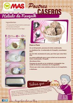 Helado De Nesquik | Supermercados MAS Blog