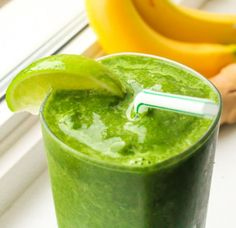 Super Recovery Coconut-Lime Post Workout Recovery Smoothie