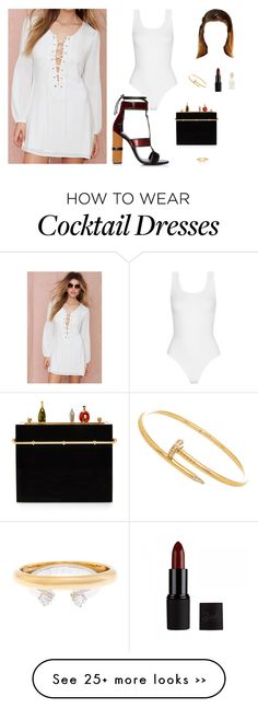 """Untitled #3382"" by antonellac15 on Polyvore featuring Yummie by Heather Thomson, Secret Charm, Tom Ford, Charlotte Olympia, Maison Margiela and Barry M"
