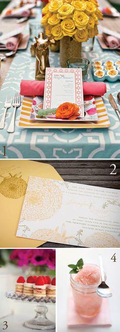Garden party ideas, with a recipe for a Campari-citrus sorbet