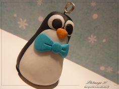 Fimo Pingouin