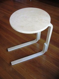 Materials: Frosta stool Description: Couldn't open the storage drawers under a Mandal bed with the Frosta stool being used as a bedside table…. So relocated two of the Frosta's legs and the drawers can now fully open. A 5 minute job, take 2 adjacent legs off and remove the inner 2 screws of the remaining …