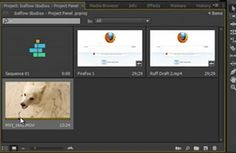 Project Panel in Adobe Premiere Pro CS6