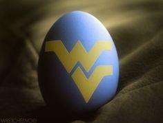 WVU Easter egg