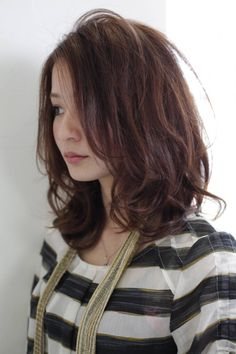 ミディアム パーマ くせ毛風 - Google 検索 Cute Hairstyles, Long Hair Styles, Beauty, Google, Long Hairstyle, Long Haircuts, Long Hair Cuts, Beauty Illustration, Long Hairstyles