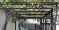 Image result for courtyard pergola