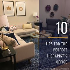 Want an office that stands out from the crowd? Use my tips to make any therapist's office more therapeutically helpful, and more memorable, to clients.