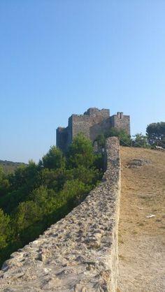 The ancient fortress of Talamone, Tuscany
