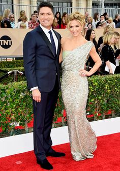 SAG Awards 2016 - Louis Aguirre and Debbie Matenopoulos