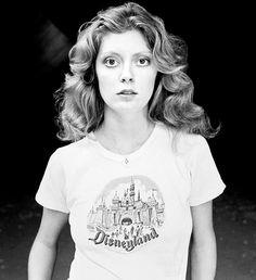 Susan Sarandon, young and wide-eyed.