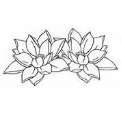 Art Indian Lotus Flower Is Traditional In Tattoo
