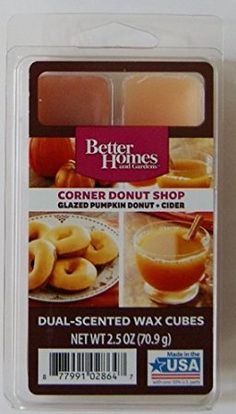 Better Homes and Gardens Brownie Pecan Pie Wax Cubes Better Homes