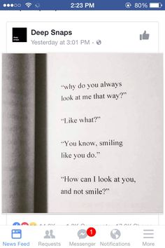 """Asked this so many times. To my boyfriend now but over the years even to others """"why do ppl (men) look at me or stare at me?"""" """"Why wouldn't they? You're beautiful confident funny sense of humore sense of your ow style in fashion and just the """"it"""" factor....so who wouldn't want to look at you? A man should feel like the luckiest man on Earth to be yours."""" Is one thing I've been told several times. But ti me I'm just me. Nothin fancy or special. I'm just original plain ol Sierra"""