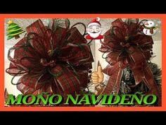MOÑO NAVIDEÑO DIY /#LOSGONZALEZVLOGS - YouTube