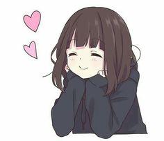 Ideas For Drawing Kawaii Girl Sketch Anime Neko, Kawaii Anime Girl, Art Anime, Cute Anime Chibi, Chica Anime Manga, Anime Girl Cute, Anime Art Girl, Anime Love, Anime Girls