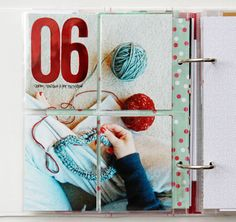 December Memories - Days 5 & 6 by Kelly Xenos December Daily, Project Life 6x8, Project Life Layouts, Christmas Journal, Christmas Scrapbook, Gossamer Blue, Pocket Scrapbooking, Scrapbooking Ideas, Printable Calendar Template