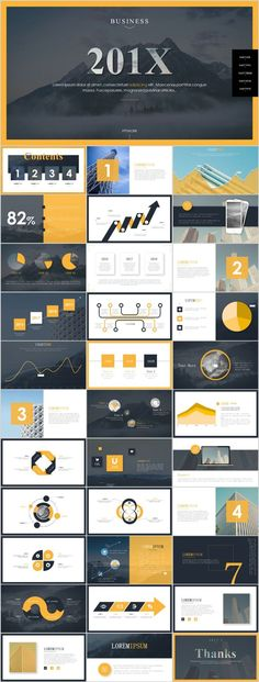 34+ Best Magazine business style PowerPoint templates #powerpoint #templates #presentation #annual#report #business #company #design #creative #slide #infographic #chart #themes #ppt Simple Powerpoint Templates, Professional Powerpoint Templates, Powerpoint Themes, Keynote Template, Business Style, Business Fashion, Business Company, Presentation Layout, Business Presentation