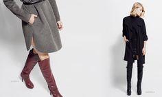 coats + boots