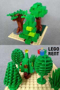 Naučte sa stavať stromy všetkých druhov podľa našich návodov. Yoshi, Lego, Character, Legos