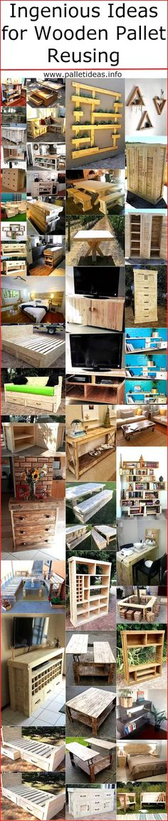 Ingenious Ideas for Wooden Pallet Reusing