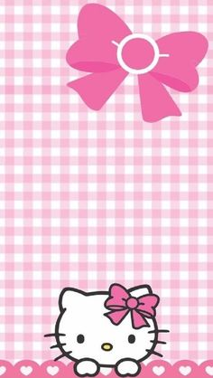 Ideas Party Wallpaper Backgrounds Hello Kitty For 2019 Hello Kitty Backgrounds, Hello Kitty Wallpaper, Pink Wallpaper, Wallpaper Backgrounds, Iphone Wallpaper, Hello Kitty Pictures, Kitty Images, Hello Kitty Invitations, Hello Kitty Imagenes