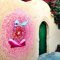 Something new from Brusk and MKT in Tunisia for the Djerbahood Project.