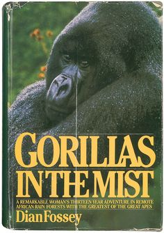Amazing study of mountain gorillas, written by the equally amazing Dian Fossey