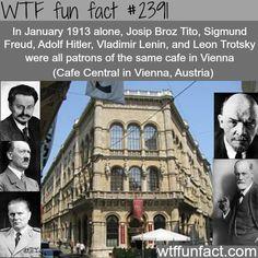 Cafe Central in Vienna, Austria - WTF fun facts
