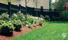 Landscaping Along Fence For Privacy Landscaping Ideas Against Fence Privacy Fence Landscaping Ideas Landscaping Ideas Fences Landscaping Along A Fence Ideas Privacy Fence Landscaping, Wood Privacy Fence, Bamboo Fence, Backyard Fences, Garden Fencing, Backyard Landscaping, Landscaping Ideas, Gabion Fence, Fence Plants