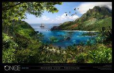 Tinkerbells Treehouse Reverse View concept art season 3