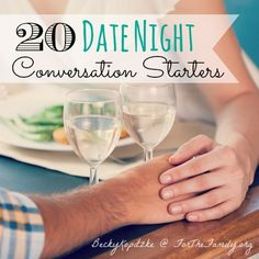 Do you ever get stuck trying to learn new things about your spouse? What kinds of questions spark connection? We have 20 right here, perfect for anytime at all. Go on... Ask away!